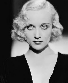 Strange Actress Beauty Tip 17 Carole Lombard Curls Comet Over Hollywood Short Hairstyles Gunalazisus