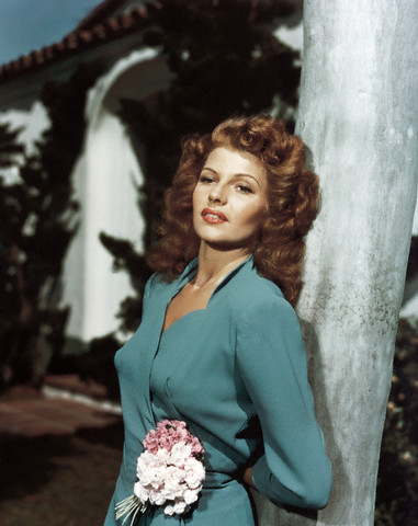 Actress Beauty Tip #24: Rita Hayworth olive oil hair rinse ...