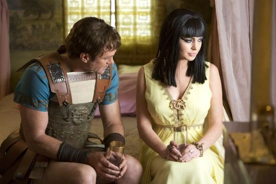 """As Burton and Taylor's romance begins on the set of """"Cleopatra"""""""