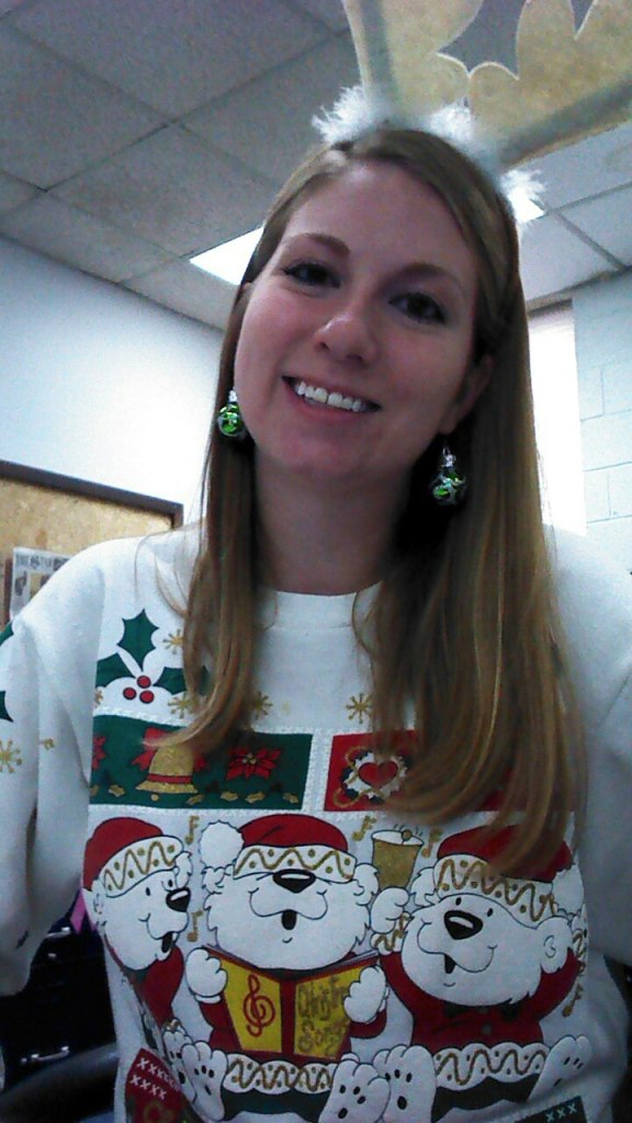 Me here at the Star being festive for all of you!