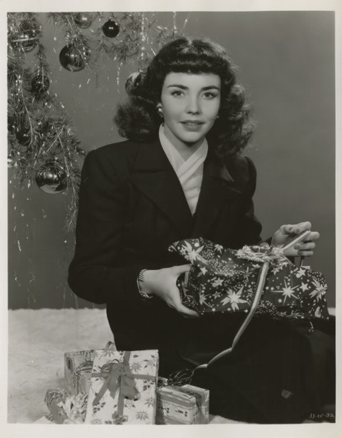 glam christmas jennifer jones