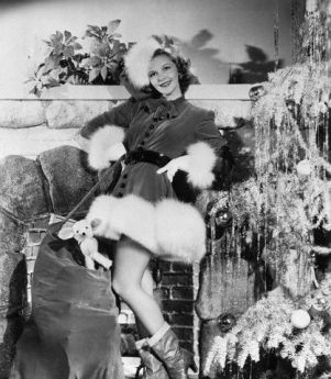 Mary Martin in Sexy Santa Costume