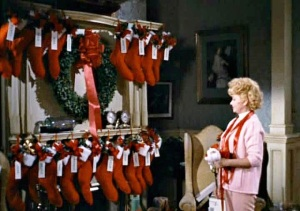 "Helen looks at 18 stockings in ""Yours, Mine and Ours"""