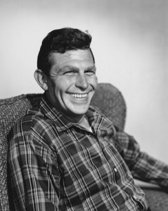 Andy Griffith in the 1960s.