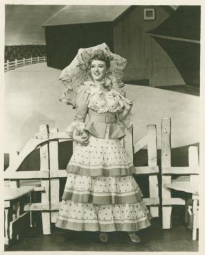 "Celeste Holm as Ado Annie in ""Oklahoma""-Broadway 1943"