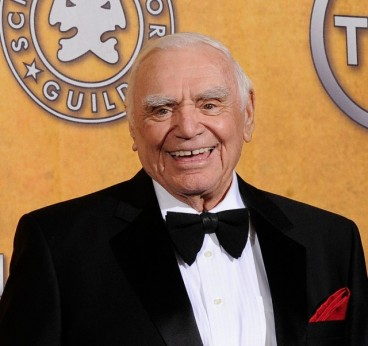 Ernest Borgnine in 2011 after being given his Lifetime Achievement award at the 17th Annual Screen Actors Guild Awards.