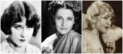 Viola Dana, Norma Shearer, Mae Murray