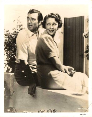 Walter Pidgeon and his wife Ruth