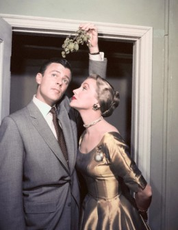 Anne Jeffreys and Robert Sterling in 1954.The couple starred in the Topper TV series together