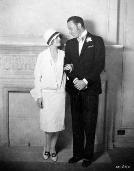 Silent actors Vilma Banky and Rod La Roque in 1927