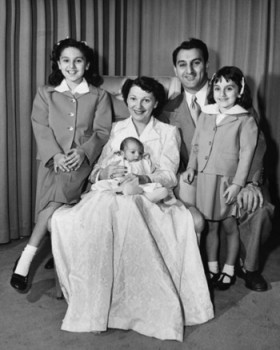 Danny Thomas wife his wife and three daughters