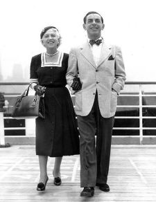 Eddie cantor and his wife Ida
