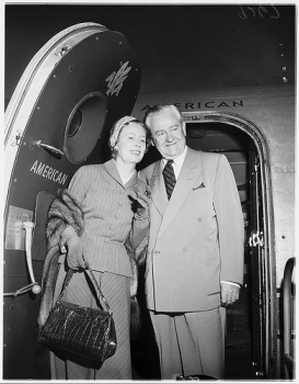 Irene Dunne and Francis Dennis Griffin in 1952