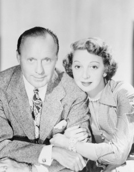 Jack Benny and Marry Livingstone
