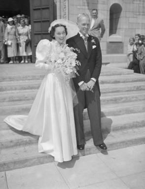 John Farrow and Maureen O'Sullivan in 1936