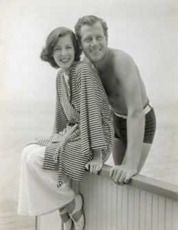 Frances Dee and Joel McCrea in the 1930s