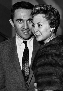 Actress Mitzi Gaynor and her producer husband Jack Bean