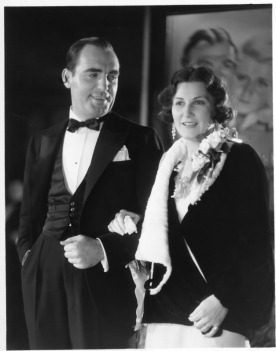 Pat O'Brien and wife