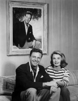 Robert and Rosemarie Stack in 1961