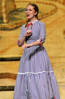 "Me as Ado Annie in ""Oklahoma"""