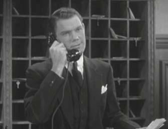 John Ridgely classic film Comet Over Hollywood