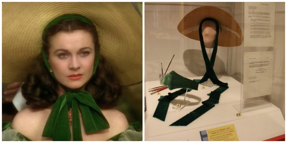 The hast worn by Vivien Leigh in the barbecue scene in Gone with the Wind