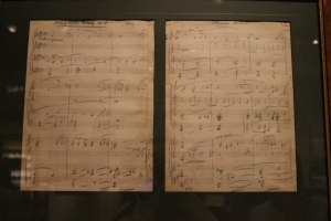 The original score by Max Steiner for Gone with the Wind
