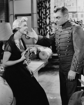 Cagney and Day in The West Point Story
