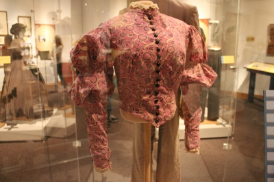 Worn by Vivien Leigh in the hospital scene in Gone with the Wind