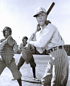 "Doris Day plays a tom boy in ""On Moonlight Bay"" before she goes on her first date with McCrae"