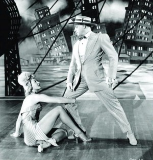 Cagney and Mayo in musical number