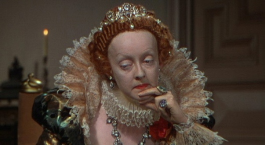 "Bette Davis as Queen Elizabeth I in ""The Private Lives of Elizabeth and Essex"" (1939)"