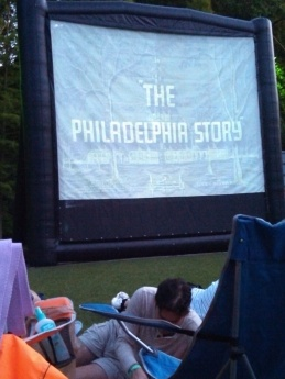 Moonlight Movies at Falls Park in Greenville, SC