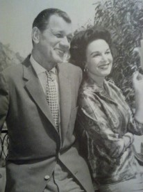 Medina and Cotten in 1962