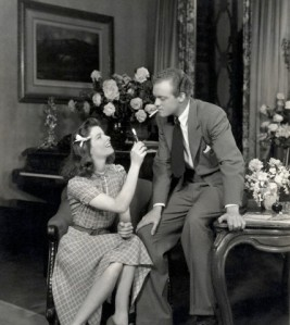 Katharine Hepburn with Van Heflin in the stage version of The Philadelphia story