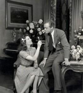 Katharine Hepburn with Van Heflin in the stage version of The Philadelphia story