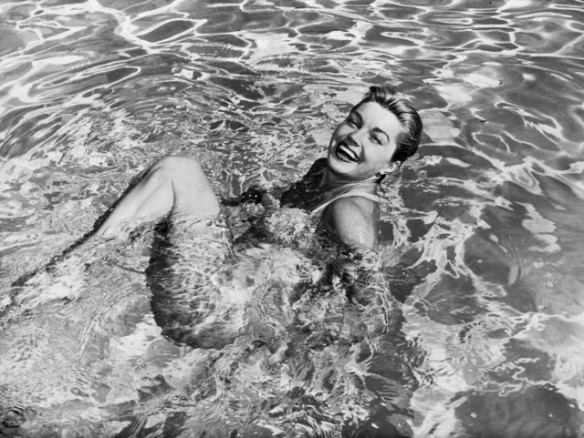 Esther Williams in Swimming Pool