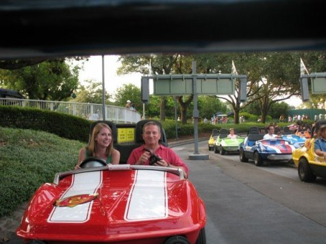 2007 at Disney World with dad