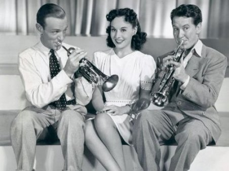 Image result for astaire and goddard in second chorus
