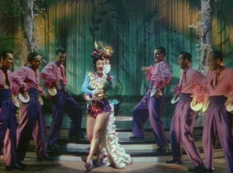 "Carmen Miranda performing ""Samba-Boogie"" (Comet Over Hollywood/Screen cap by Jessica P.)"