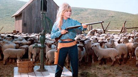 "Doris Day as a sheep raising suffragette in ""The Ballad of Jose"" (1967)"