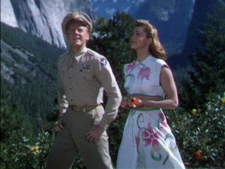 Van Johnson and Esther Williams. This is my favorite outfit Esther wears in the film.