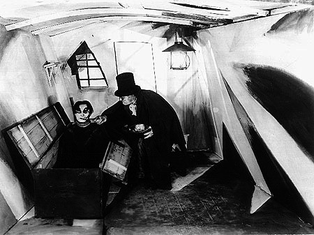 "Scene from ""The Cabinet of Dr. Caligari"" (1920)"