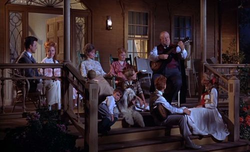 """Osh (Burl Ives) sings """"On the Front Porch"""""""