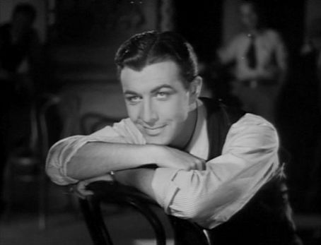 Robert Taylor as Bob Gordon.