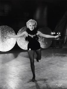 Parker posing as Mademoiselle Arlette-the fake French star invented by gossip columnist Bert Keeler