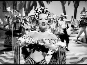 "Carmen Miranda performing ""Chico Chico"""