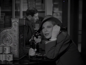 Glenda Farrell stars as Torchy Blane, a troublesome and wise-cracking reporter in 1930s films. Blane comically gets her information by hiding in trashcans and bugging rooms, techniques not used by contemporary reporters.