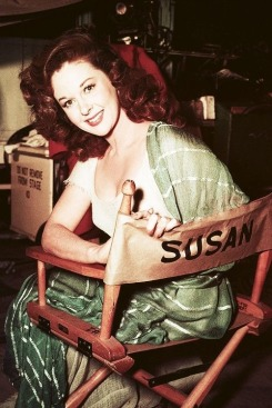 Actress Susan Hayward stayed thin with a three day diet of eggs and tomatoes.