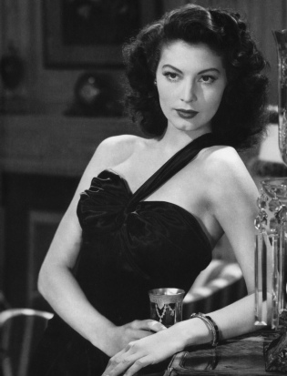 "Actress Ava Gardner in ""The Killers"" (1946)"
